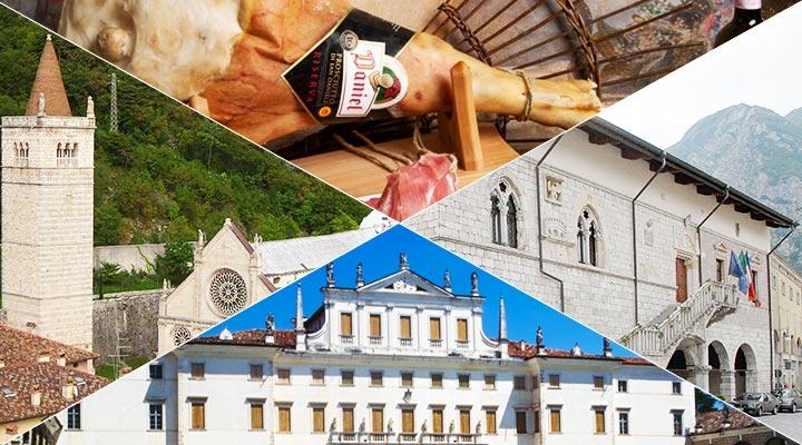 Gemona - Venzone - San Daniele - Villa Manin